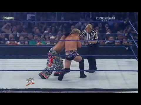 Chris Jericho Vs Rey Mysterio Intercontinental Championship 1/3