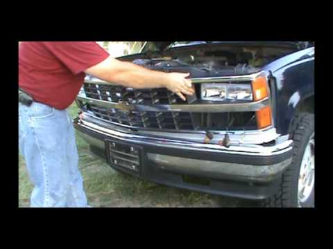 grille replacement 88 98 chevy trucks youtube grille replacement 88 98 chevy trucks