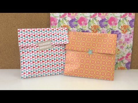 Geschenkverpackung in 1 Minute – süße Papiertüte für Kleinigkeiten – für die Mutter, Beste Freundin