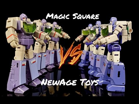Magic Square VS NewAge Legends Reflector by Deluxe Baldwin
