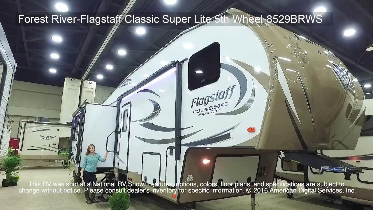 Forest River-Flagstaff Classic Super Lite 5th Wheel-8529BRWS - YouTube