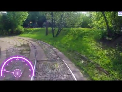 Travel Russia Moscow by tram №14