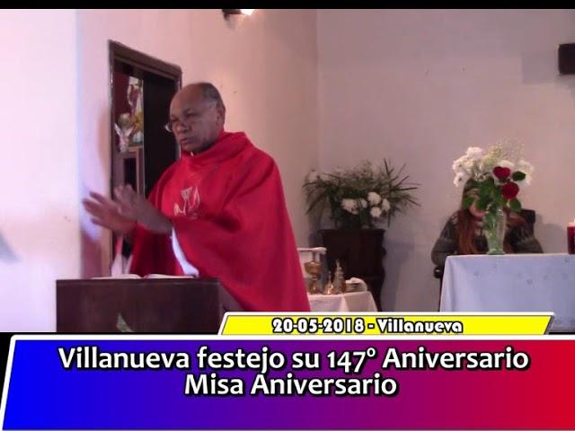 Misa Aniversario de Villanueva