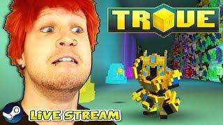 GRINDING U9! TROVE END-GAME!? ✪ Trove 21K PR NN Live-Stream | Scythe Plays