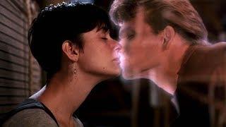 """Клип на музыку и видеокадры из фильма """"Привидение"""" (Ghost) 1990 г."""