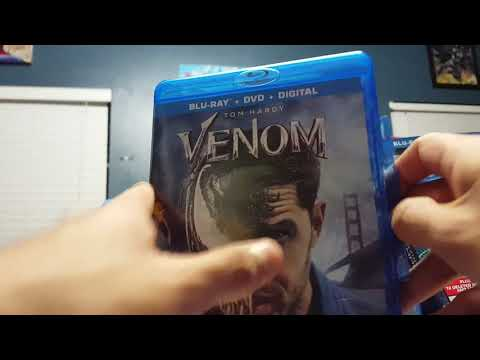 Venom (2018) Blu Ray In Boxing + Mini Christmas Haul