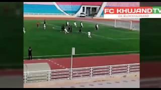 Amir Ibragimov amazing freekick goal vs Istiklol 2