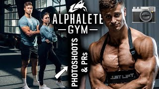 ALPHALETE PHOTOSHOOTS AND INSANE BENCH PRs | 3 Weeks Out Ft. Christian Guzman