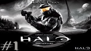 Halo: The Master Chief Collection - Halo: Combat Evolved Anniversary - Part 1- That Ring Tho