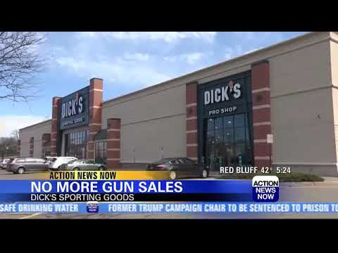 Dick's Sporting Goods Will Stop Selling Firearms, Hunting Gear At 125 Stores