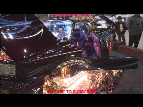 INSANE LOW RIDERS @ THE TEJANO SUPER CAR SHOW IN ODESSA, TX!