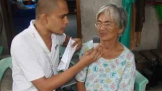 Caritas Manila- Nanay Generosa with Al dela Cruz