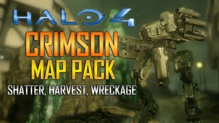 Halo 4 - News - Crimson Map Pack Trailer! Shatter, Harvest, and Wreckage!