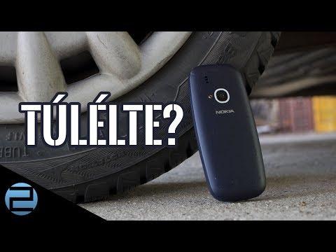 Beton vs. telefon | Nokia 3310 2017 törésteszt