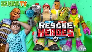 ZZ Squad, We Need Help From Rescue Heroes!