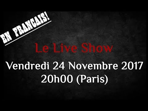 Le Live Show de la Photo Académie Nov 2017