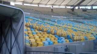 Tour novo maracanã 2014   Tour Brazil the new maracanã stadium