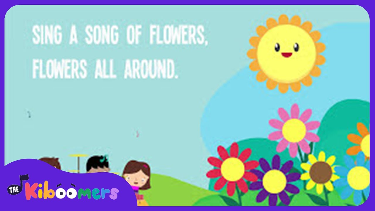 Fall Out Boy Flower Wallpaper Sing A Song Of Flowers Song Lyrics Preschool Songs