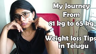 My weight loss Journey From 81 Kg to 65 Kg