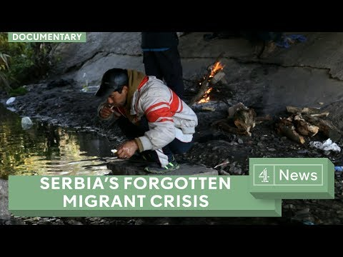 Inside Serbia: the migrants living in dire conditions