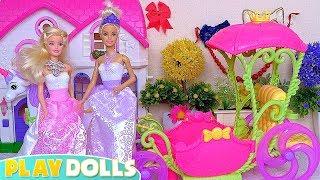 Barbie Dolls, Ken and Chelsea Fancy Dress Dance Ball!