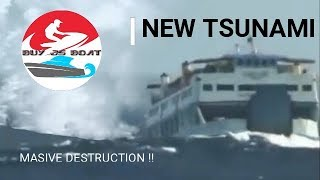 TSUNAMI NEWS ANAK KRAKATOA INDONESIA 2018 ULTIMA NOTICIA SUNAMI