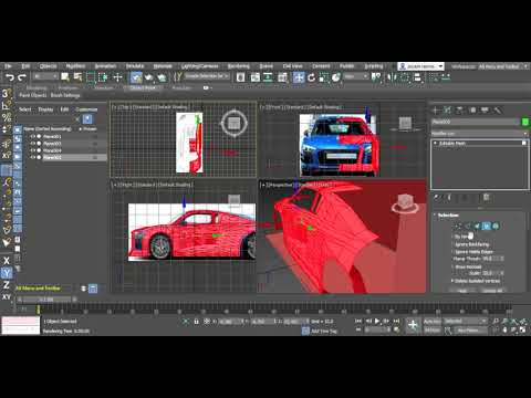 Mobil balap racing Autodesk 3ds Max 2019 Student Version 26 05 2019