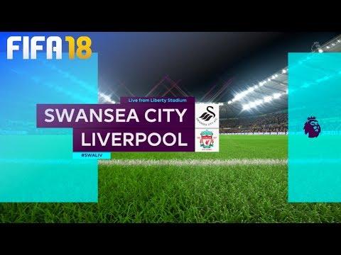 FIFA 18 - Swansea City vs. Liverpool @ Liberty Stadium