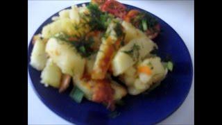 Готовим картофель в мультиварке