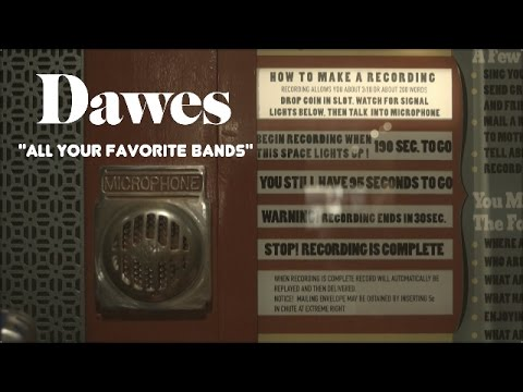 Dawes in the Voice-O-Graph