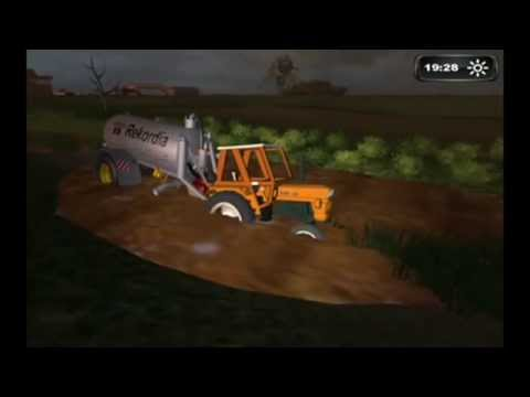 Thumbnail: HD Tractor stuck in MUD Farming simulator 2011 Landwirtschafts simulator 2011