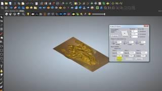 видео Вертикальный декор - 2d stl модели для ЧПУ