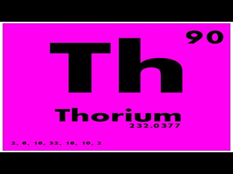 Study Guide 90 Thorium Periodic Table Of Elements Youtube