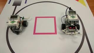 Ev3. Сумо роботів