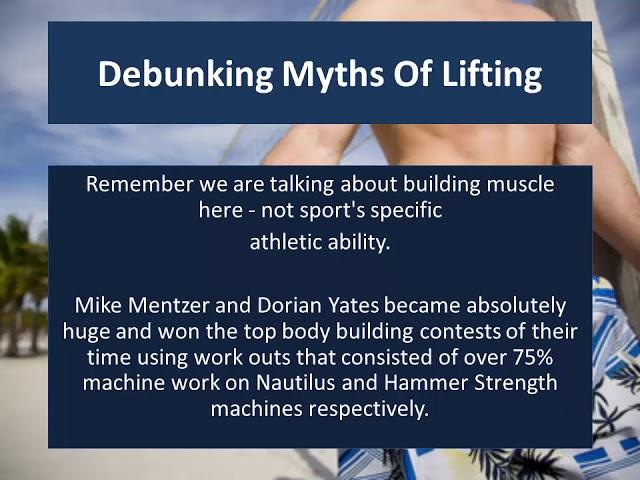 HIT 3 o f 9 - Debunking Myths Of Lifting