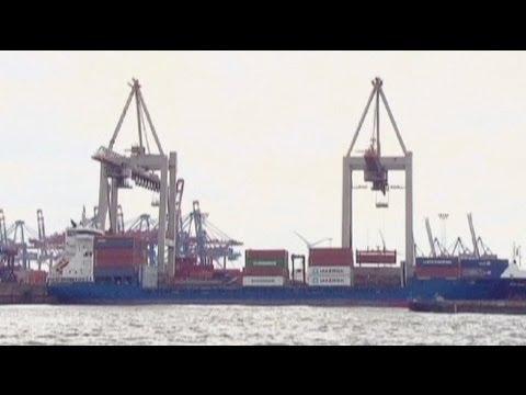 Deutsche Exporte gehen zurück