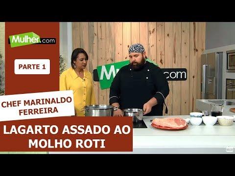 Lagarto Assado Ao Molho Roti  - Chef Marinaldo Ferreira - 04/10/2019 P1