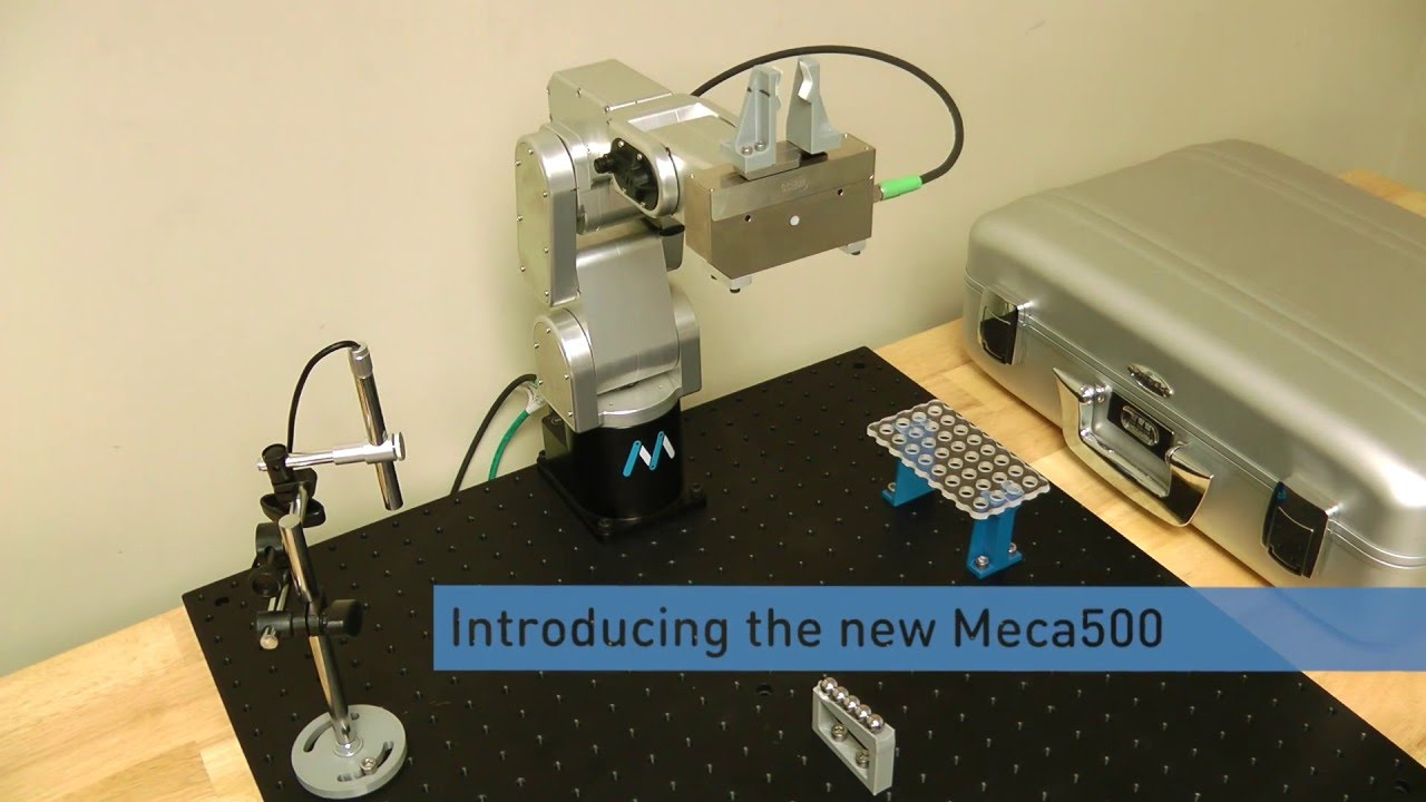 Meca500 - Ultracompact six-axis robot arm - Acrovision
