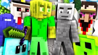 CAMO BATTLE in UTOPIA?! - Minecraft CAMO BATTLE