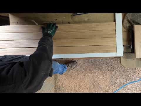 Homemade wooden shutters