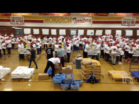 Students volunteer to 'Stop Hunger Now'
