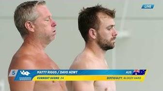 Sportsbet's Elite Average Games - Men's Synchronised Bomb Diving