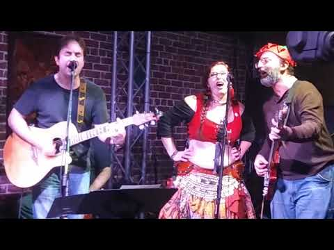 "Todd Lemoine's Traditional Celtic Punk Band perform ""Fairytale of New York"" with Dari Aikman"