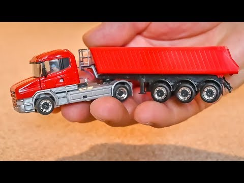 Micro scale RC Truck gets unboxed and tested! 1:87 H0 scale!