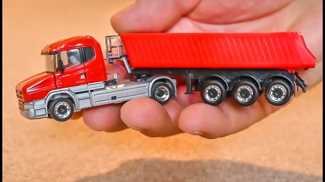 Download Micro scale RC Truck gets unboxed and tested! 1:87 H0 scale!