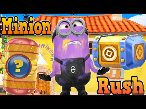 Despicable Me Minion Rush - Fullscreen Gameplay Walkthrough - Daily Challenge IOs & Android