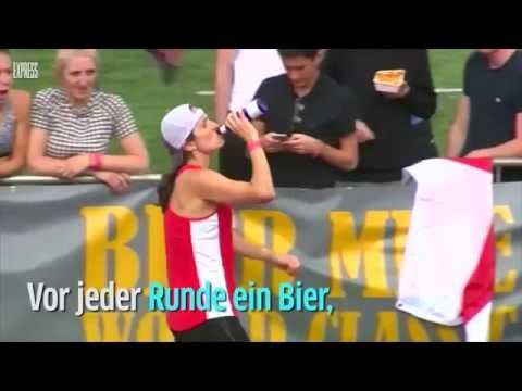 Bier exen und rennen - Olympische Spiele Rio 2016?