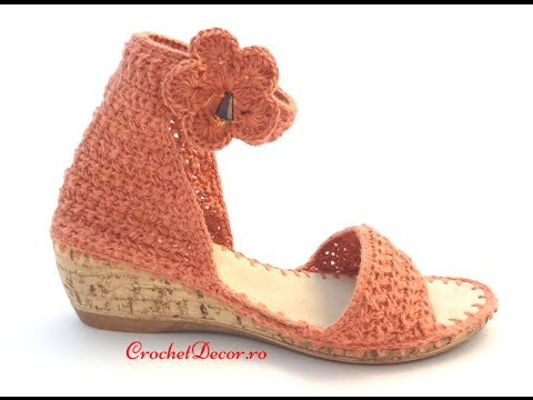 Buy Soles For Crocheted Shoes And Crocheted Sandals Youtube