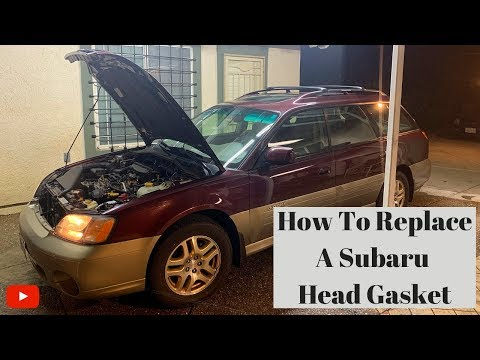How to Replace a Subaru Head Gasket and Timing Belt