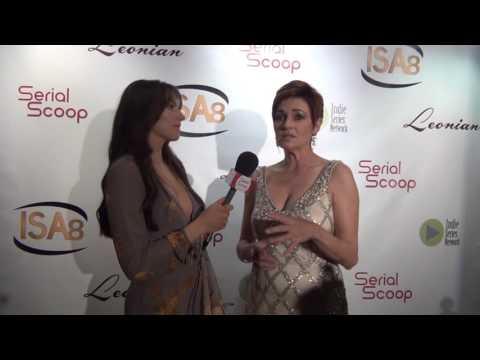 #ISA8 Best Guest Actress - Drama Winner: Carolyn Hennesy, The Bay